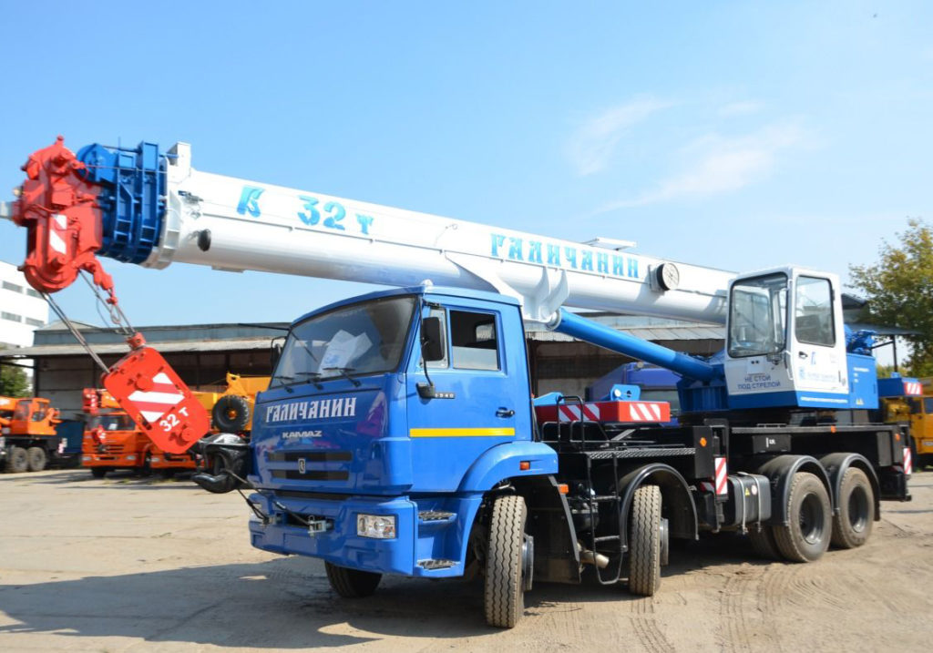 Автокран Галичанин КС-55729-1В 32 тонны