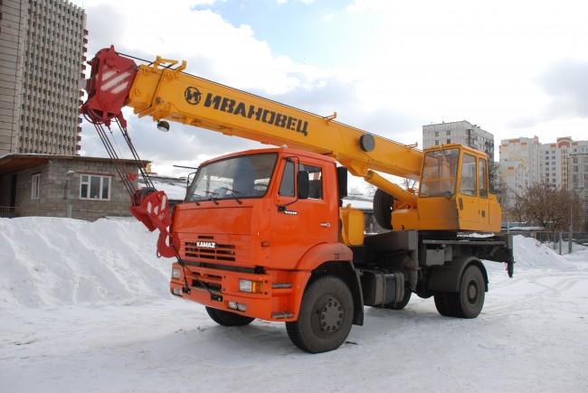 Автокран Ивановец КС-35714К-3 16 тонн