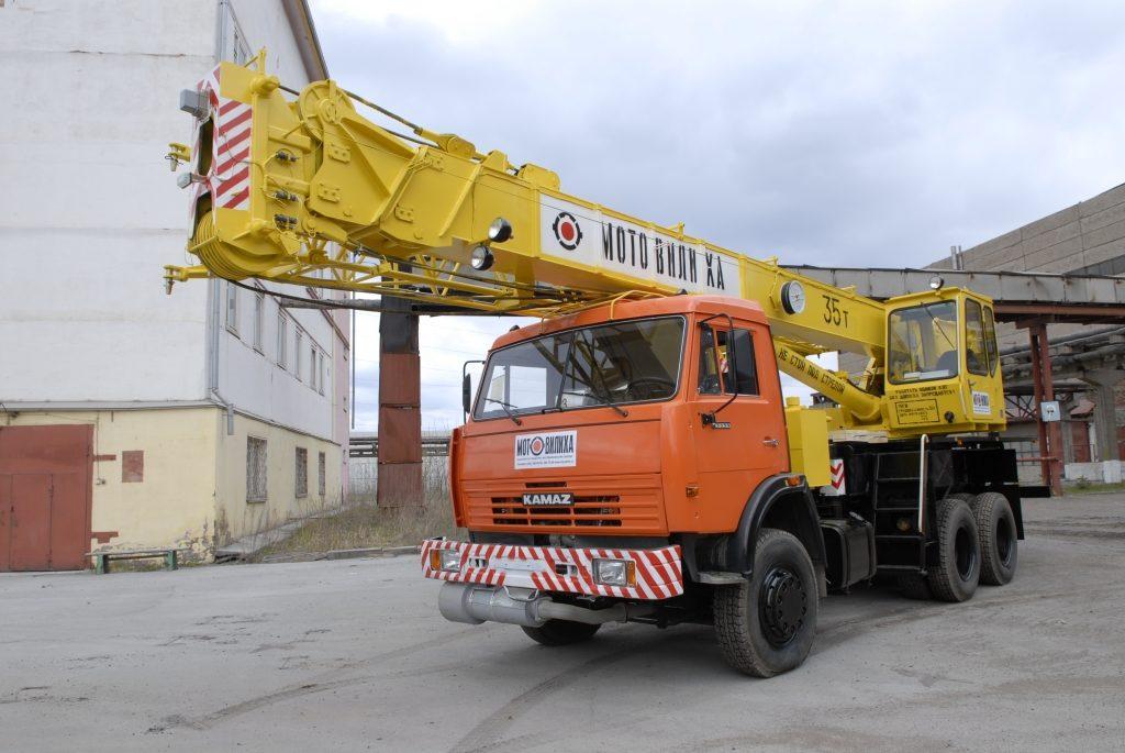 Автокран Мотовилиха КС-5579.2 25 тонн