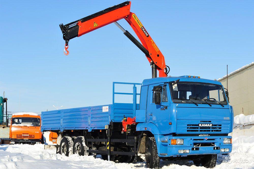 Манипулятор PALFINGER PK 15500А  Камаз 65117 6,1 тонн