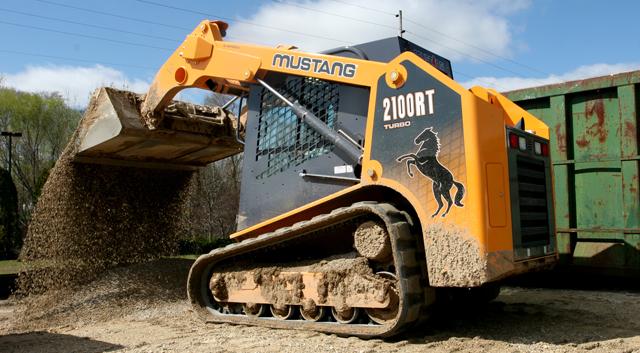 Мини-погрузчик Mustang 2100RT