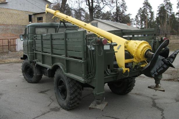 Ямобур вездеход ГАЗ-66