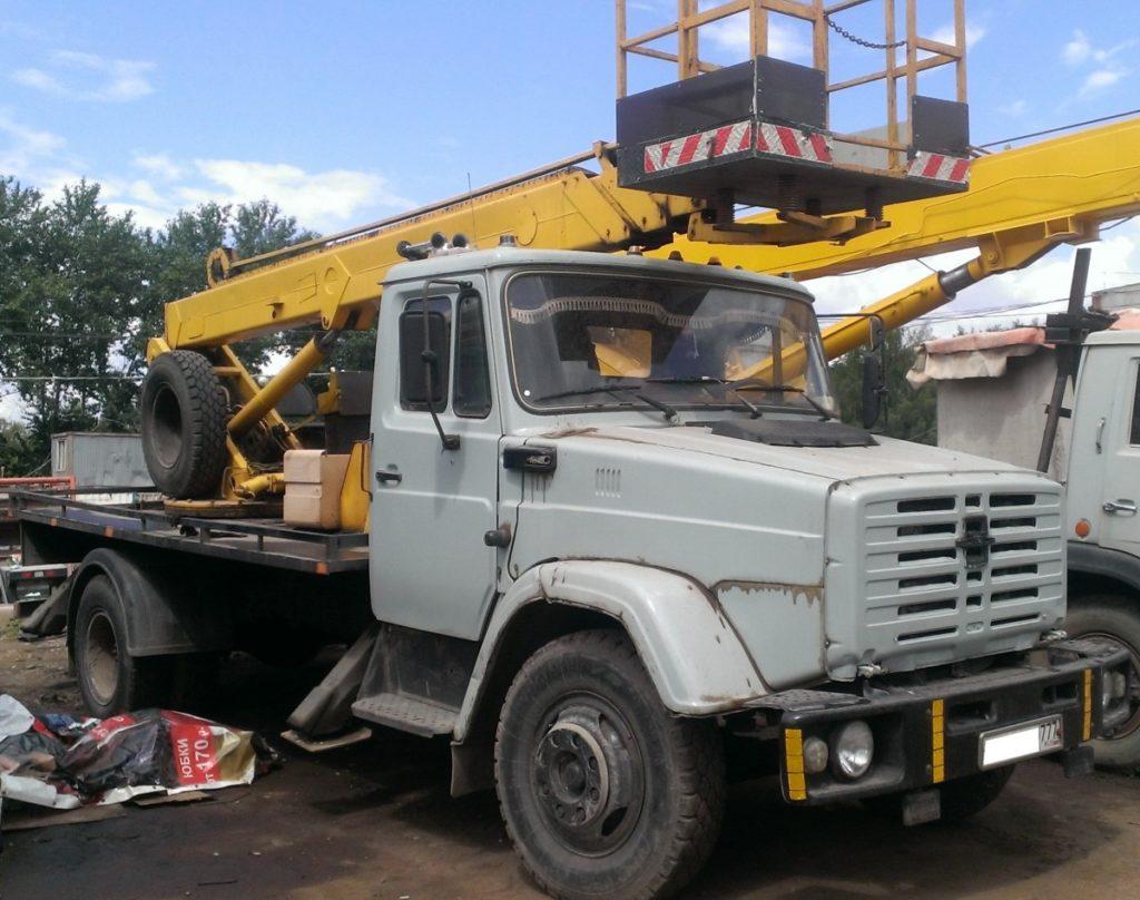 Автовышка ЗИЛ АПТ-17