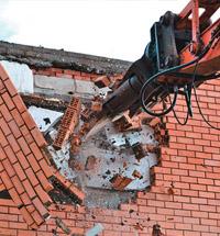 Демонтаж кирпичных зданий в Санкт-Петербурге и области
