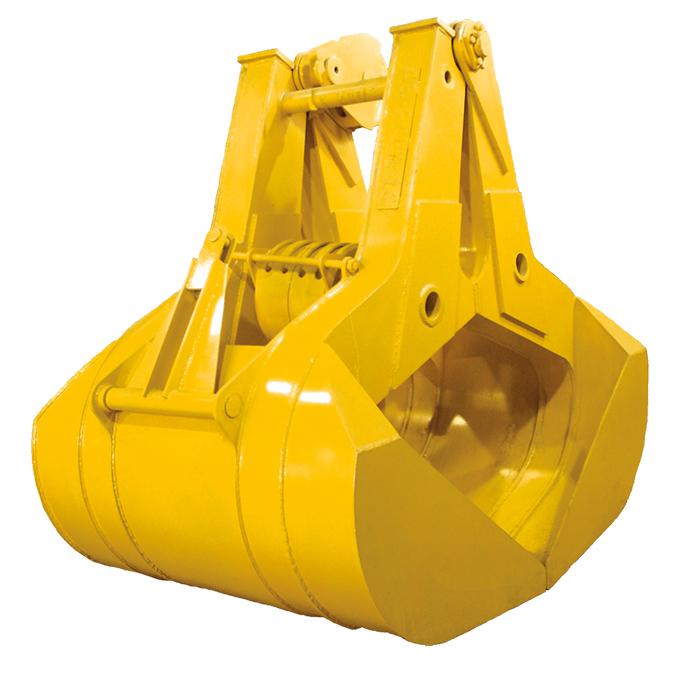 Колесный экскаватор Caterpillar-315 с грейфером