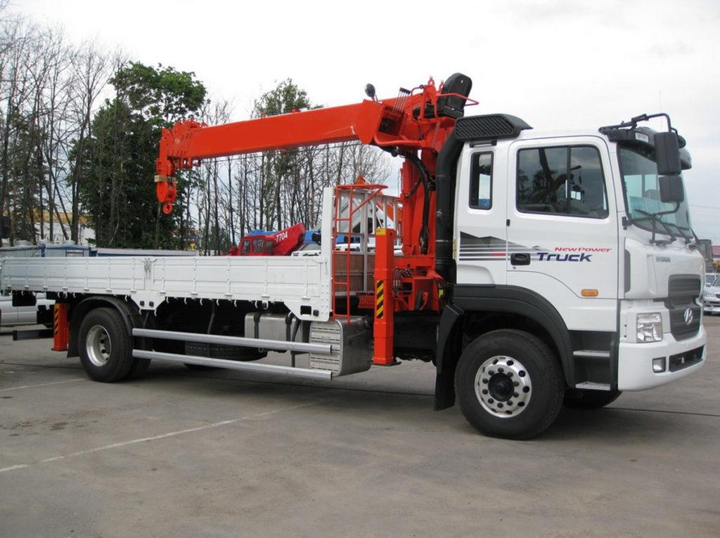 Манипулятор Kanglim Hyundai-Trago 7,1 тонн