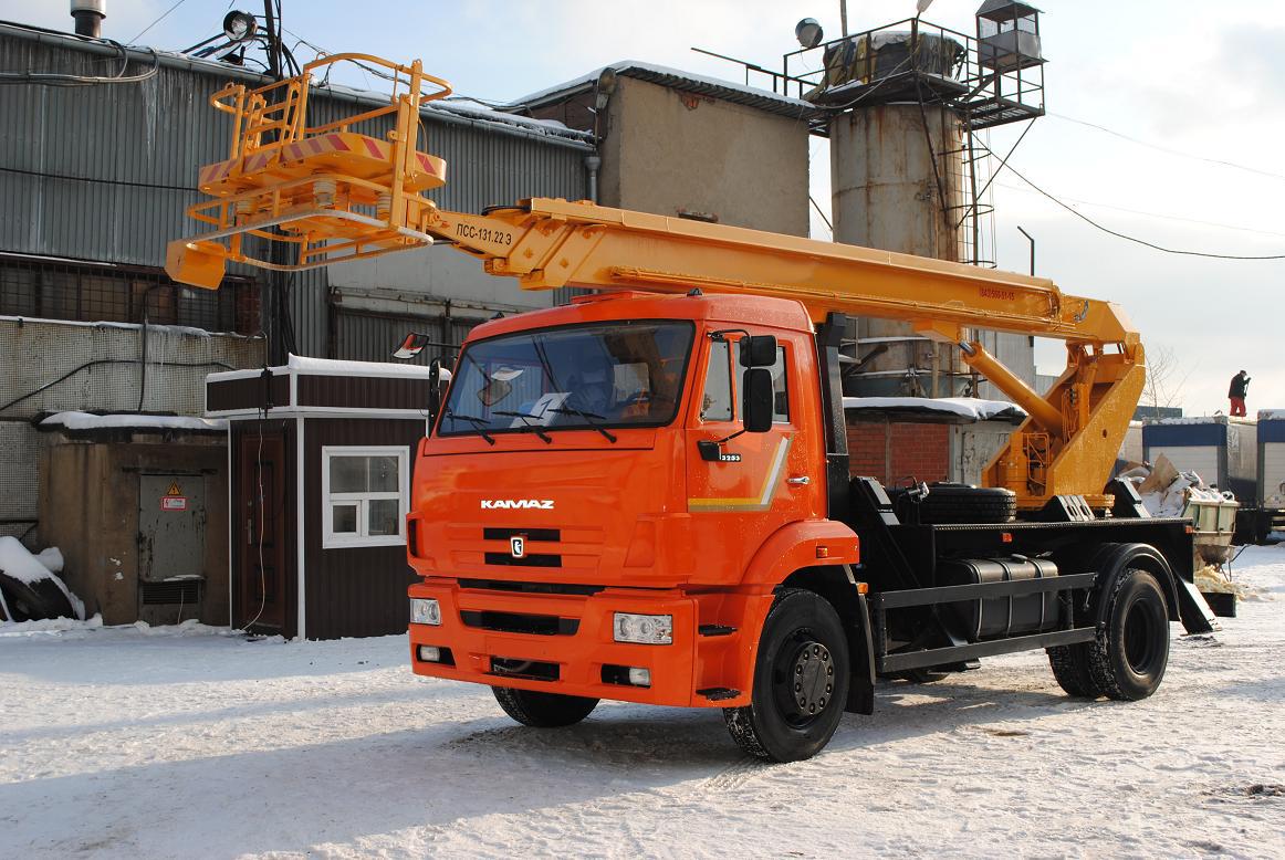 Автовышка АПТ-22 ПСС-131.22