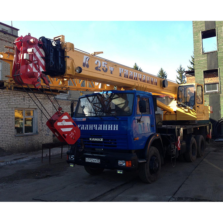 Автокран Галичанин КС-55713-1 грузоподъёмностью 25 тонн