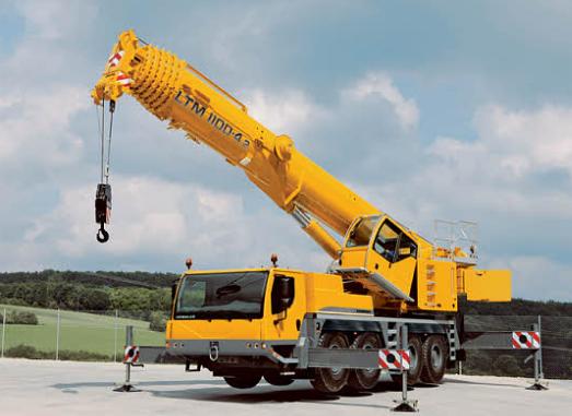 Автокран  Liebherr LTM 1100-4.2 грузоподъёмностью 100 тонн