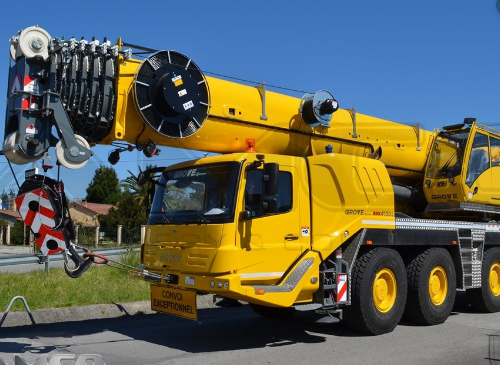Автокран Grove GMK-4100L грузоподъёмностью 100 тонн