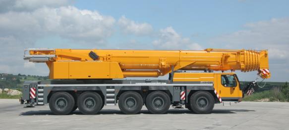 Автокран Liebherr LTM 1200-5.1 грузоподъёмностью 200 тонн