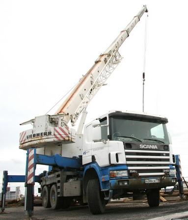 Автокран Liebherr LTF 1030 30 тонн