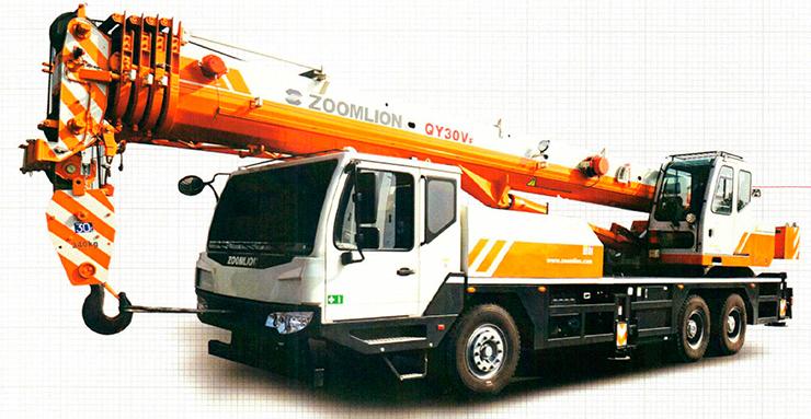 Автокран Zoomlion QY30V 32 тонны