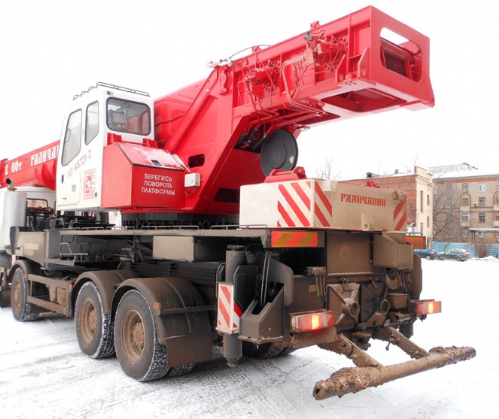 Автокран Галичанин КС-65721-2 60 тонн