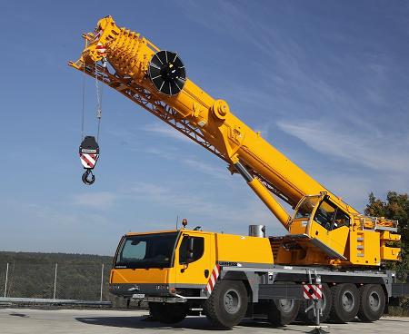 Автокран  Liebherr LTM 1095-1 грузоподъёмностью 95 тонн