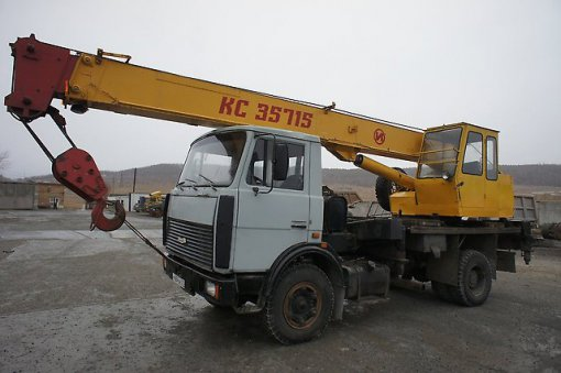 Автокран Ивановец КС-35715 грузоподъёмностью 16 тонн