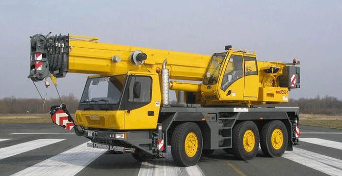 Автокран Grove GMK3050 грузоподъёмностью 50 тонн