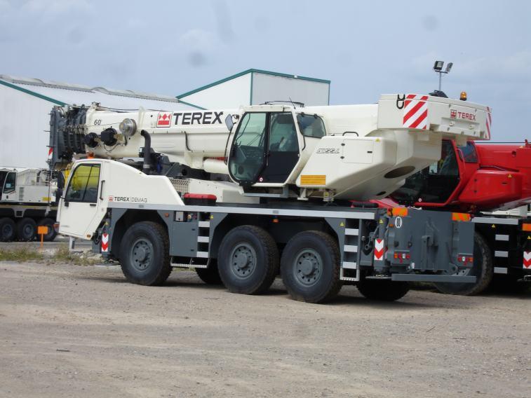 Автокран Terex-Demag AC-40 CITY грузоаодъёмностью 40 тонн