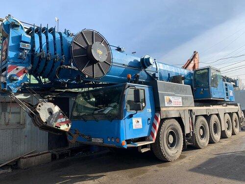 Автокран Liebherr LTM 1160 грузоподъёмностью 160 тонн