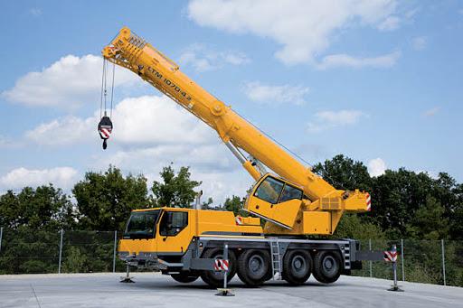 Автокран Liebherr LTM 1070-4.1 грузоподъёмностью 70 тонн