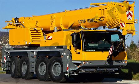 Автокран Liebherr LTM 1090-4.1 90 тонн