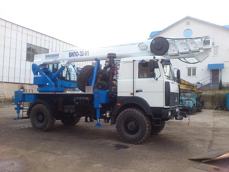Автовышка ВИПО-32-01 НА БАЗЕ МАЗ-5316