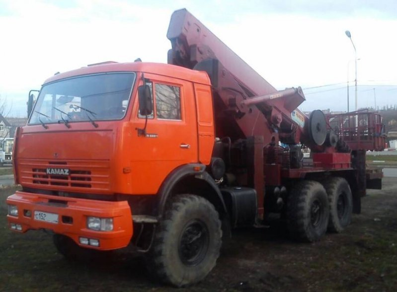 Автовышка АГП-45 КАМАЗ 43118