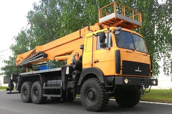 Автовышка ВИПО-22-01 МАЗ-4371Р2