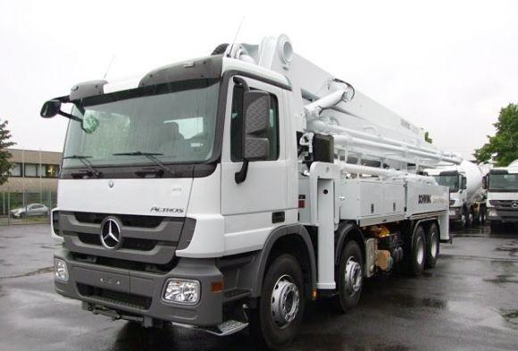 Автовышка АГП-75Т  Mercedes Actros