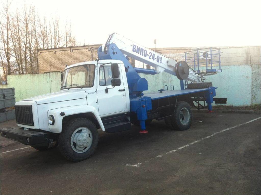 Автовышка ВИПО-22-01 ГАЗ-33098