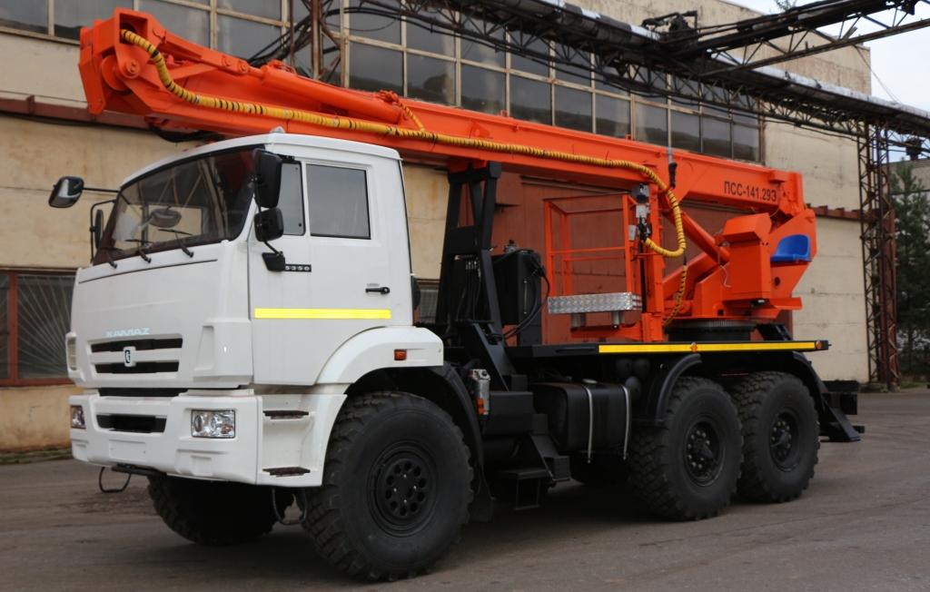 Автовышка АГП-29 КАМАЗ-43502