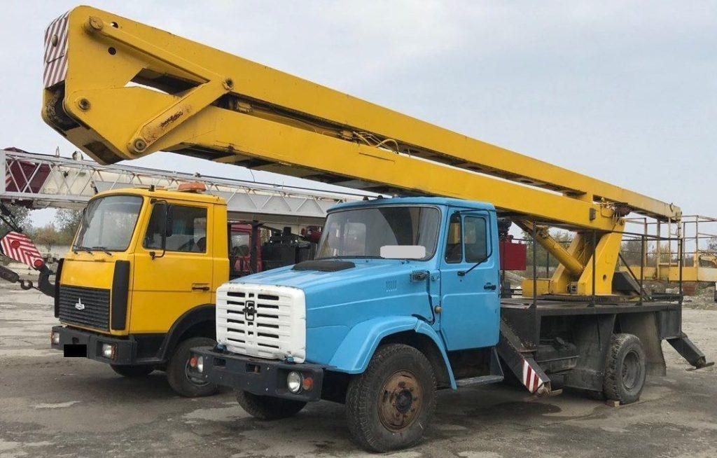 Автовышка ЗИЛ ВС-25