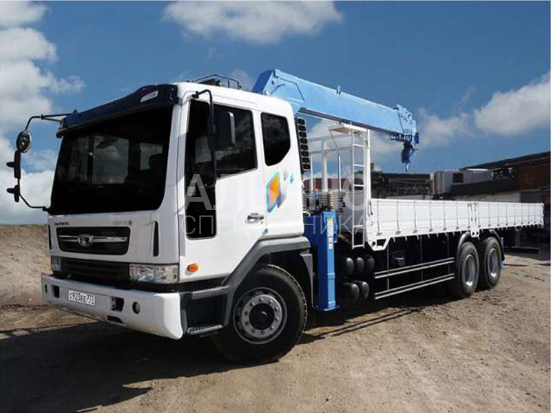 Манипулятор Daewoo Novus 10 тонн