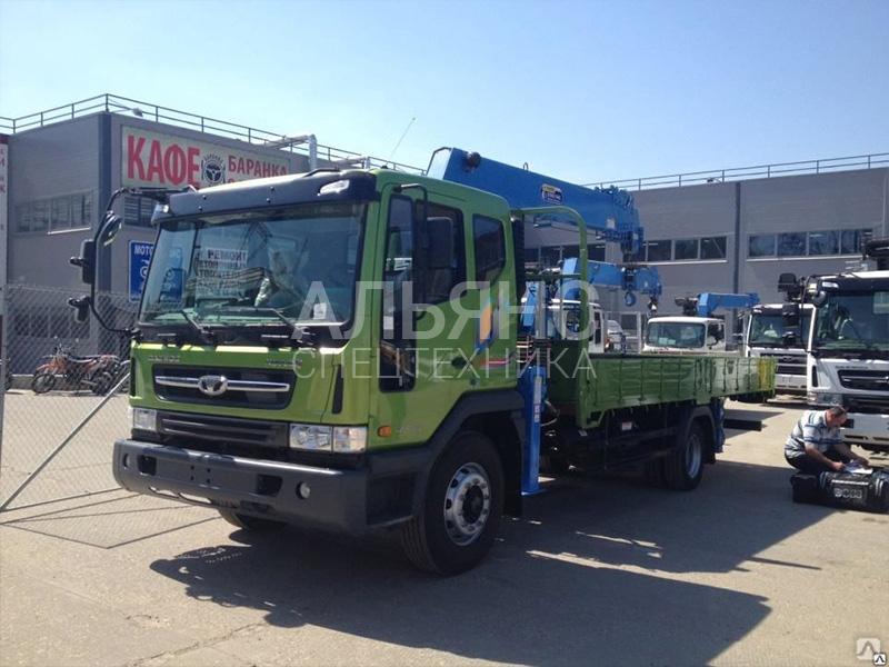 Манипулятор Daewoo Novus DongYang 7 тонн