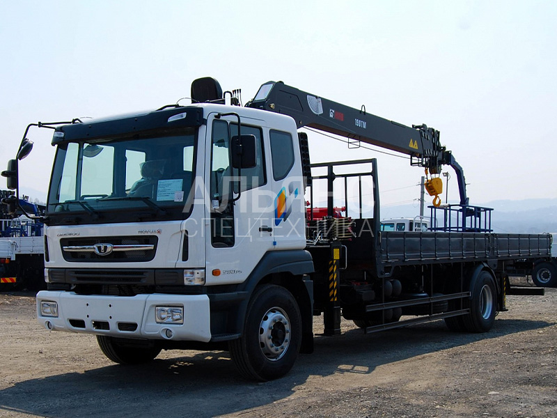 Манипулятор Daewoo Novus HRS216 7 тонн