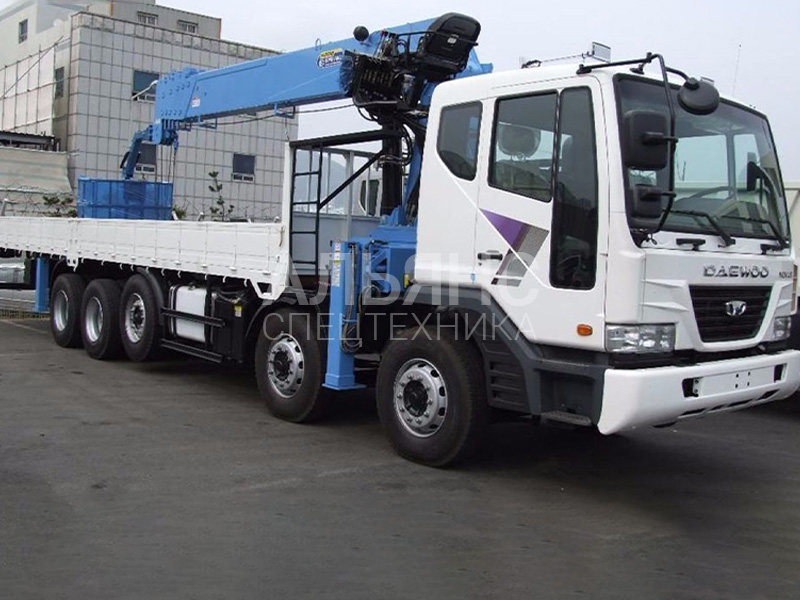 Манипулятор Daewoo Ultra Novus 15 тонн