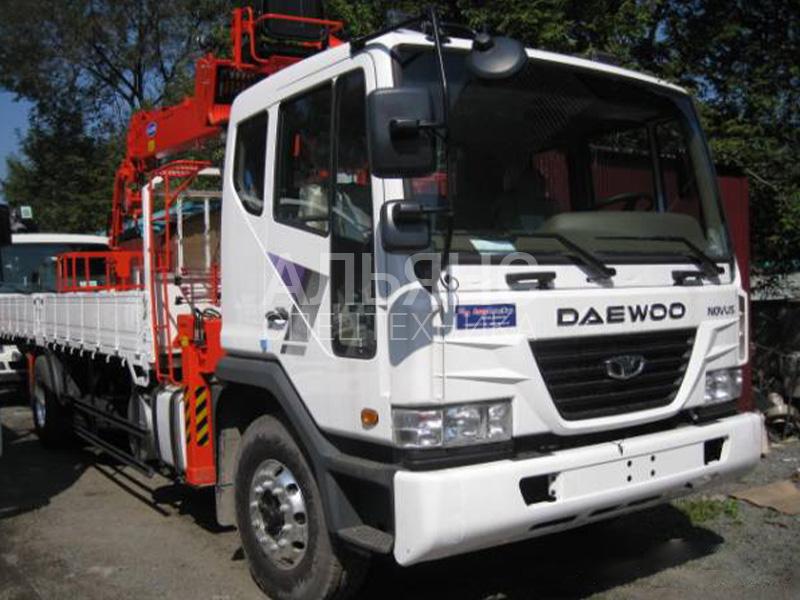 Манипулятор Daewoo Ultra Novus CSM CSS186 7 тонн