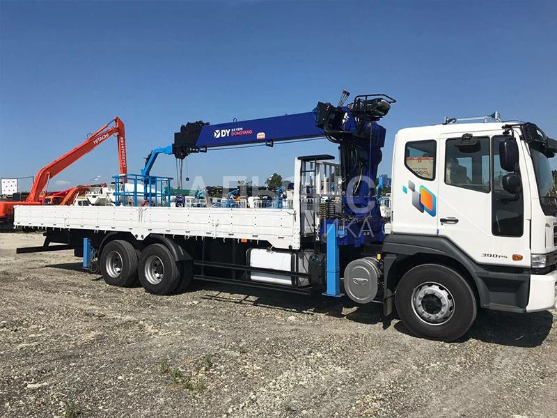Манипулятор Daewoo Ultra Novus DongYang 10 тонн