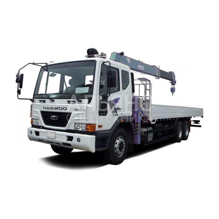 Манипулятор Daewoo Ultra Novus DongYang грузоподъёмностью 10 тонн