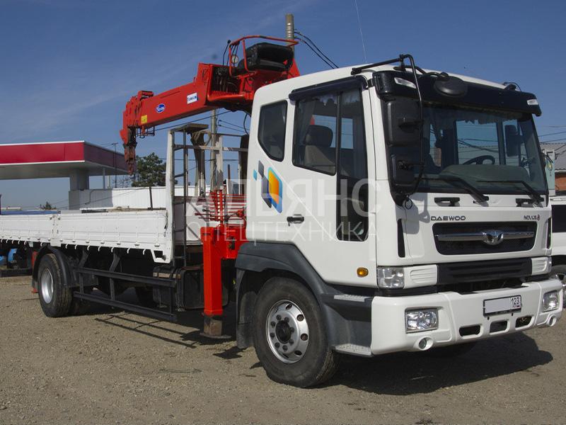 Манипулятор Daewoo Ultra Novus HRS206 7 тонн