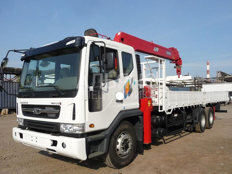 Манипулятор Daewoo Ultra Novus Kanglim 10 тонн