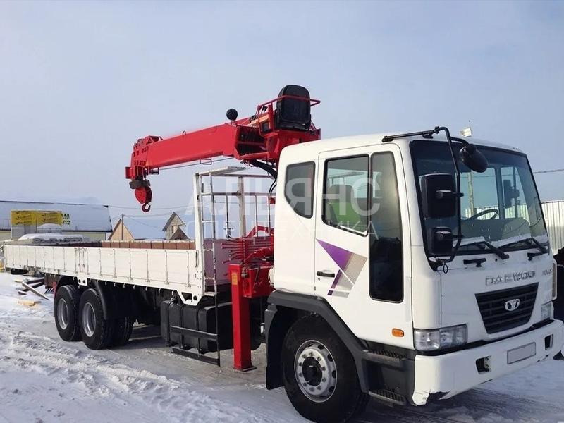 Манипулятор Daewoo Ultra Novus SCS 7402 10 тонн