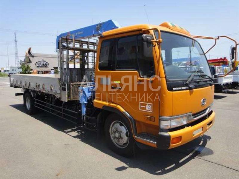 Манипулятор Hino Ranger Super Z 300 5 тонн