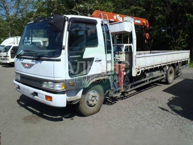 Манипулятор Hino Ranger Super Z 370 5 тонн