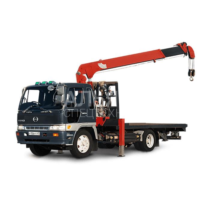 Манипулятор Hino Ranger Super Z 370 грузоподъёмностью 5 тонн