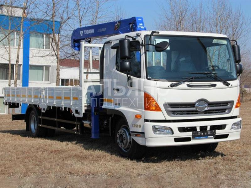 Манипулятор Hino Ranger Tadano RAC 8 тонн