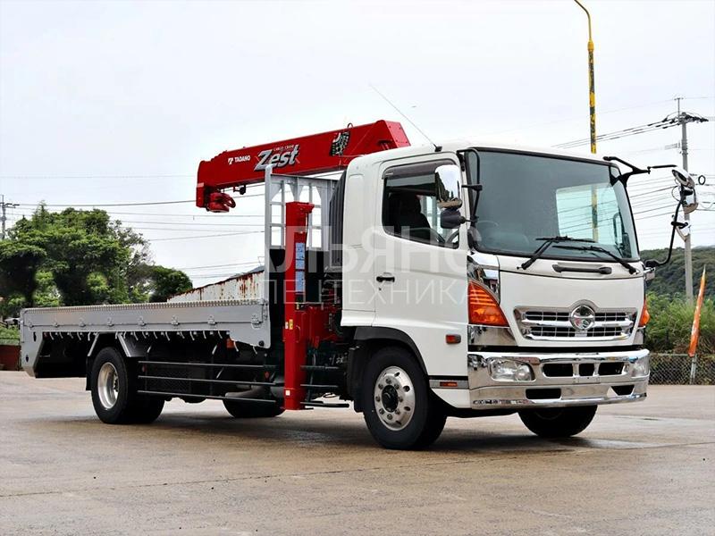 Манипулятор Hino Ranger UNIC 500 8 тонн