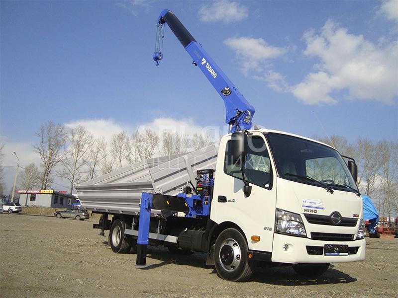 Манипулятор Hino Soosan 5 тонн