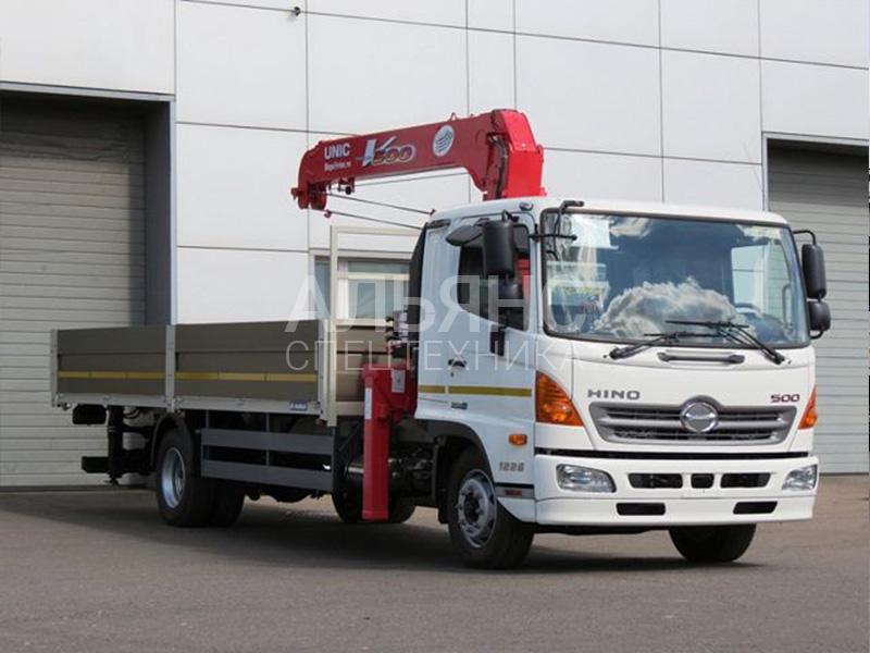 Манипулятор Hino Unic 340 5 тонн