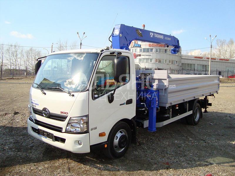Манипулятор Hino ZR760 5 тонн